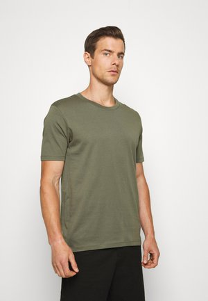 SLHTHEPERFECT ONECK TEE  - Basic T-shirt - beetle