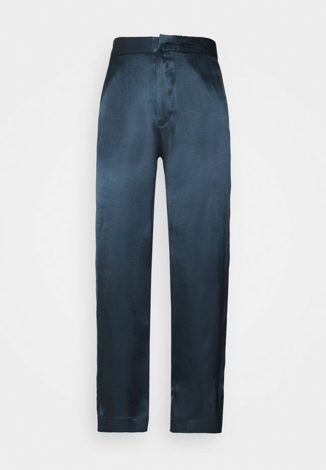 THE OLBIA TROUSER - Pyjamabroek - petrol
