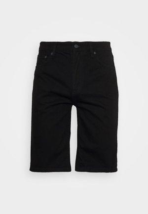 BASIC - Jeans Short / cowboy shorts - black