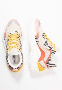 Steve Madden - ANTONIA - Sneakers - coral/multicolor - 3