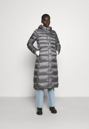 BASIC COAT LONG LENGTH HOOD - Untuvatakki - grey