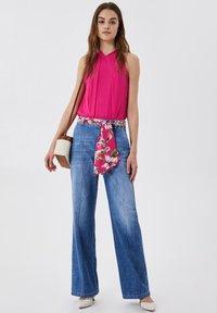 LIU JO - PALAZZO - Flared Jeans - blue denim - 1