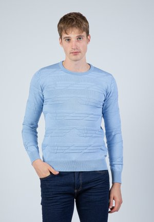 Jersey de punto - light blue
