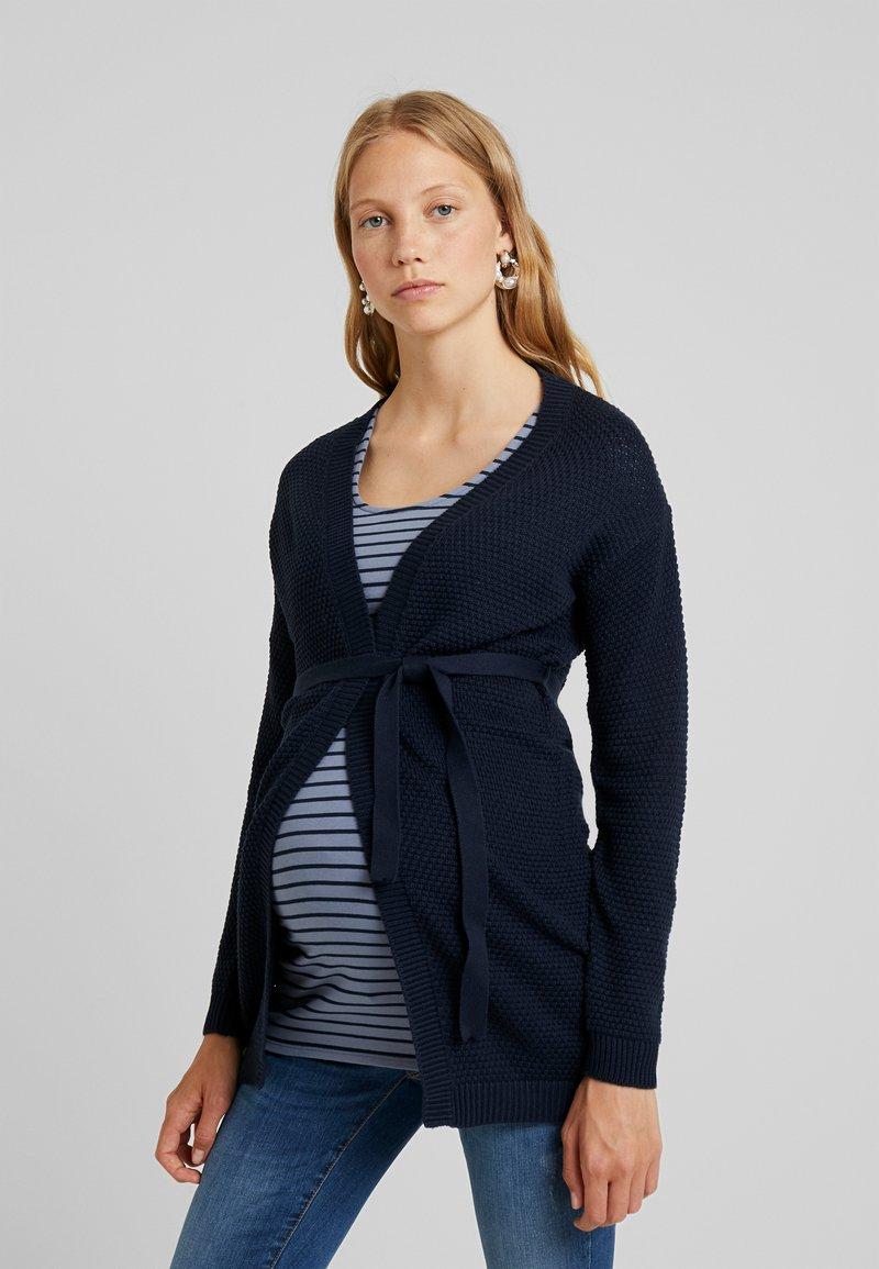 MAMALICIOUS - MLCRYSTALINE CARDIGAN - Cardigan - navy blazer