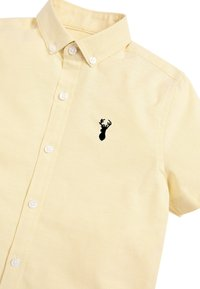Next - YELLOW SHORT SLEEVE OXFORD SHIRT (3-16YRS) - Košile - yellow - 2