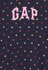 GAP - TODDLER GIRL SKATER DRESS - Žerzejové šaty - dark blue - 2