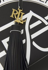 Lauren Ralph Lauren - ADLEY SHOULDER MEDIUM - Handbag - black/white - 5