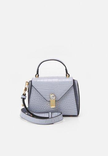 TRIANGLE CROC MINI XBODY - Handbag - lilac