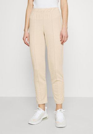 ONLMETTE LONG PANT - Tracksuit bottoms - sesame