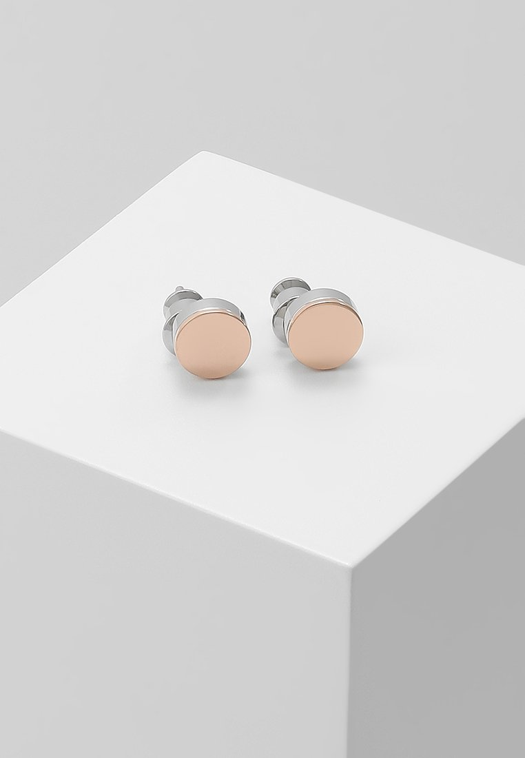 Skagen - ELIN - Earrings - silver-coloured/roségold-coloured
