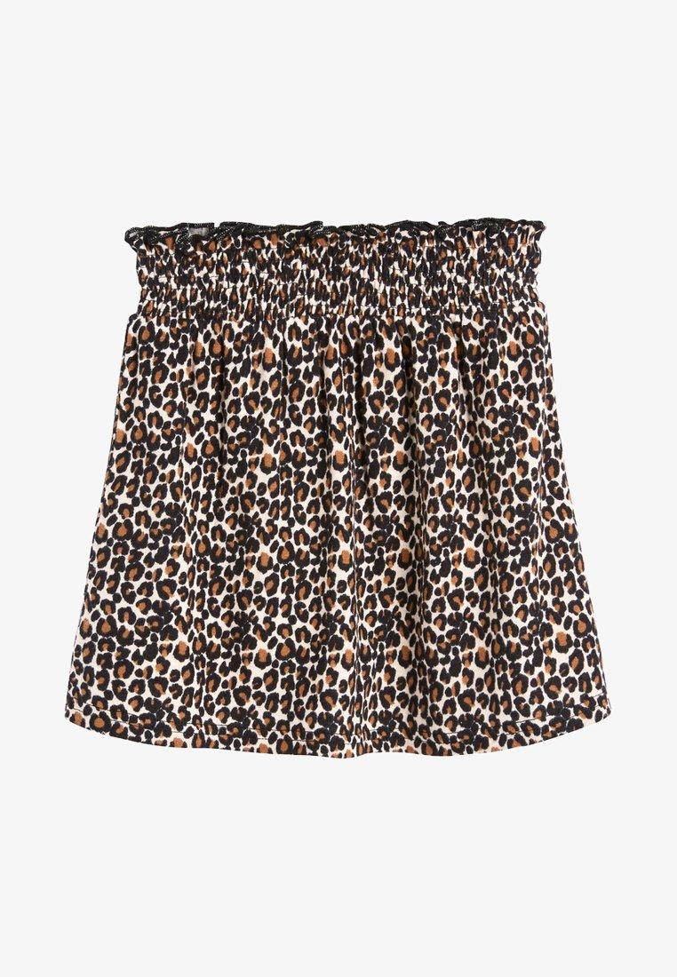 Next - A-line skirt - black