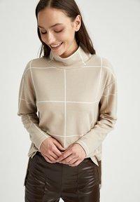 DeFacto - Long sleeved top - beige - 3