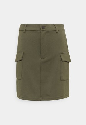 NMHIPE PALMA SKIRT - Mini skirt - kalamata