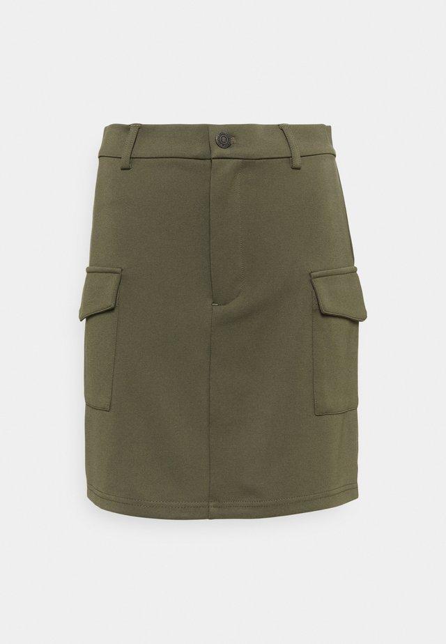 NMHIPE PALMA SKIRT - Minifalda - kalamata