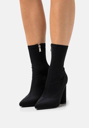 ARANZA - Korte laarzen - black