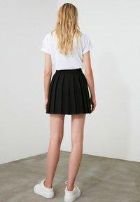 Trendyol - A-line skirt - black - 2