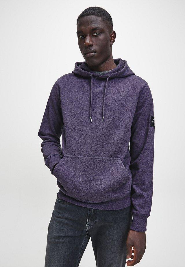 Hoodie - gentian violet