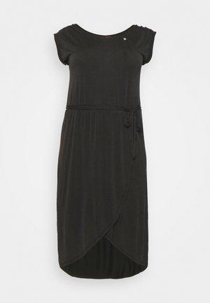 ETHANY - Žerzejové šaty - black