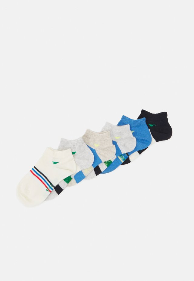 COLORFUL STRIPE SNEAKER 6 PACK - Socks - sea blue/dark navy