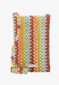 Loeffler Randall - GEORGINA BEADED PHONE CROSSBODY - Sac bandoulière - multi-coloured - 1