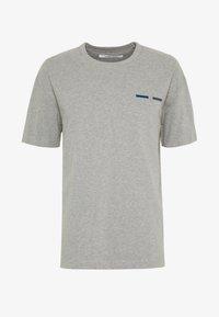TOSCAN  - Print T-shirt - grey mel