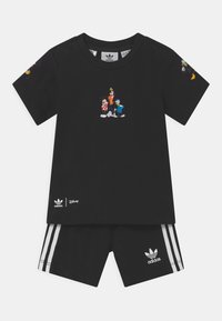 adidas Originals - DISNEY CHARATER SHORT TEE SET - Shorts - black - 0