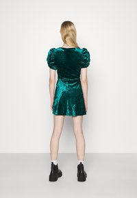 Topshop - IDOL TEADRESS - Cocktail dress / Party dress - dark green - 2