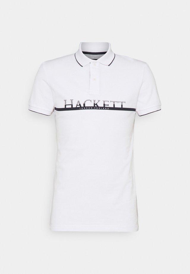 HACKETT - Poloshirts - white