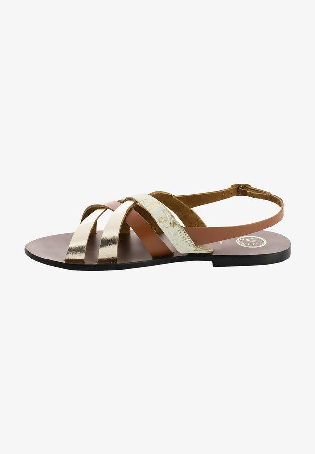 SOPHORA  - Sandały - tan