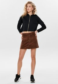 ONLY - ONLAMAZING SKIRT - A-line skirt - coffee bean - 1
