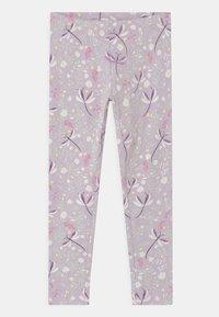 Lindex - MINI 2 PACK - Leggings - Trousers - light lilac - 2