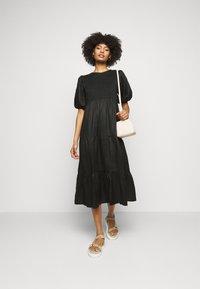 Faithfull the brand - ALBERTE DRESS - Denní šaty - plain black - 1