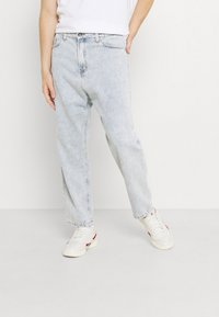 Kaotiko - PANT CROPPED - Jeans relaxed fit - denim acid - 0