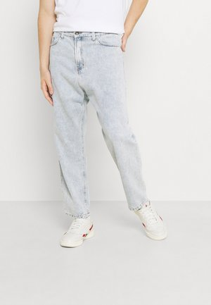 PANT CROPPED - Jeans relaxed fit - denim acid