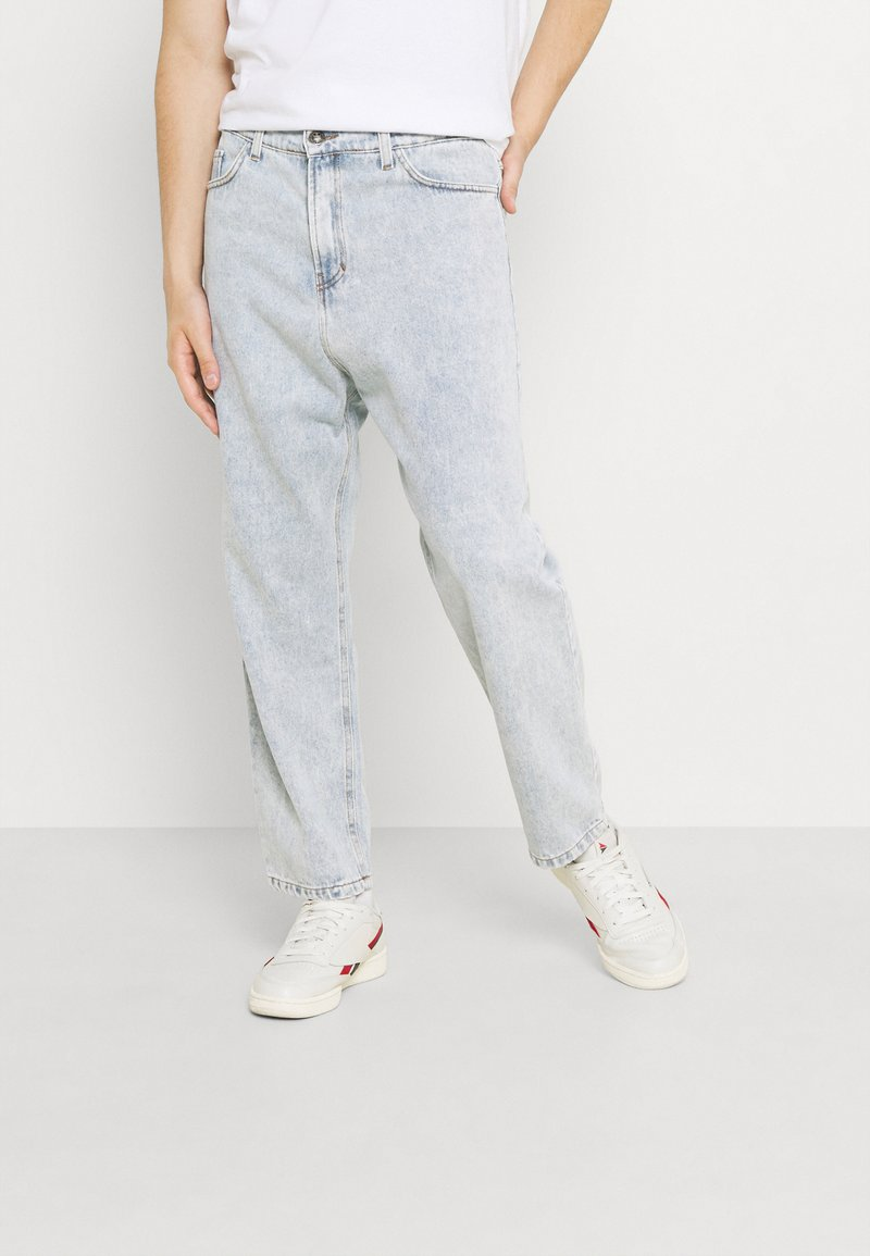 Kaotiko - PANT CROPPED - Jeans relaxed fit - denim acid