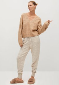Mango - PICKY - Jumper - light/pastel grey