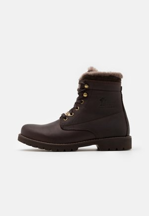 AVIATOR IGLOO - Lace-up ankle boots -  grass marron/brown