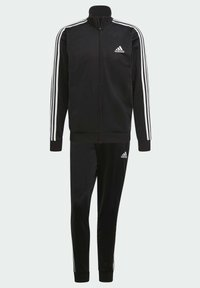 adidas Performance - Trainingspak - top:black/white bottom:black/white