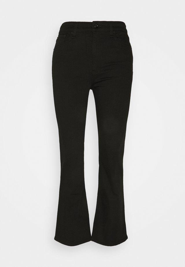 NINA HIGH RISE ANKLE FLARE - Flared Jeans - black