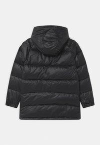 adidas Originals - UNISEX - Down coat - black/white - 1