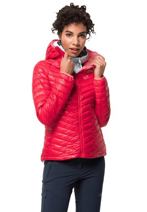 ATMOSPHERE  - Down jacket - clear red