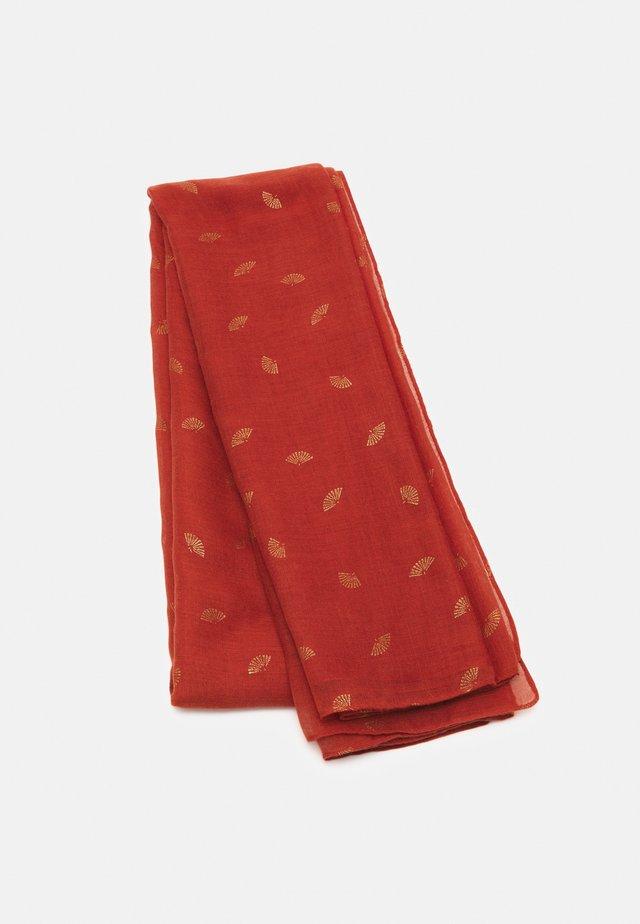VEVENTA - Tørklæde / Halstørklæder - terracotta
