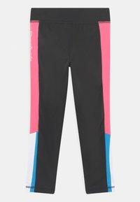 Reebok - SIDE STRIPE CAPRI - Leggings - Trousers - black - 1
