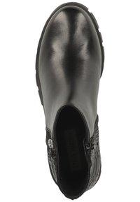 Steve Madden - Platform ankle boots - black snake 967 - 1