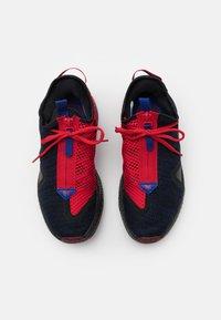 Nike Performance - PG 4 - Basketbalové boty - black/metallic silver/rush blue/university red - 3