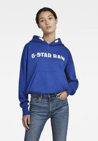 G-Star - UNISEX EMBRO HDD SW - Sweatshirt - bhashor sweat r -blue - 1
