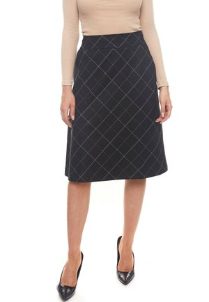 ROMANTISCHER - A-line skirt - schwarz