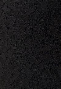 Vila - VIKALILA CAPSLEEVE - Print T-shirt - black - 2