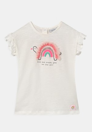 APPLICATION - Print T-shirt - bright white