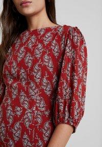 Louche - RILEY PAISLEY - Maxi dress - red - 6